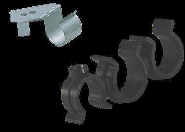 Clips plastiques tuyauterie moteur