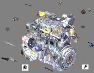 Application LISI - Groupe motopropulseur