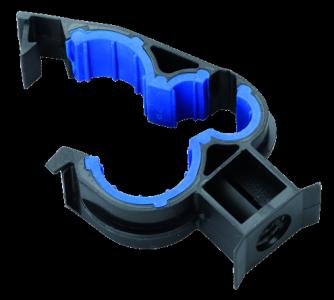 Plastic clip for braking tube