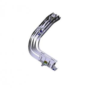 Cable raceway for electrical bundles